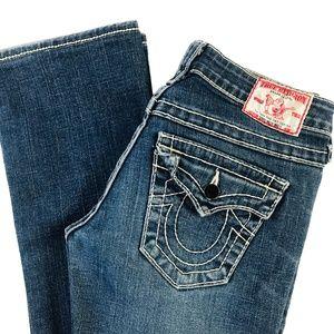 True Religion Disco Billy Big T Boot Leg Jeans